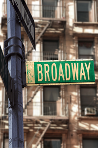 Monologues for Women from Plays Comedy Collections Work for You broadway sign