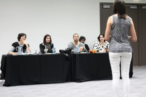 tips on comedic monologues for women b 2 woman in front of auditors
