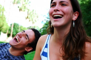 comedic monologues for women man and woman laughing